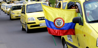 Spineless Colombian Politicos Bow Down to the Anti-Uber Taxi Cartel