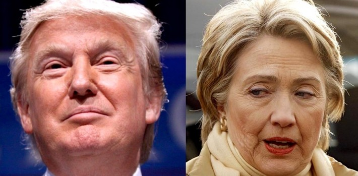 In the United States, Trump and Clinton are two sides of the same coin: They believe in the State per se.