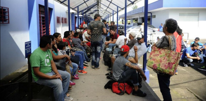 Cuban migrants stranded in Costa Rica