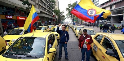 How Violence against Uber Backfired in Colombia