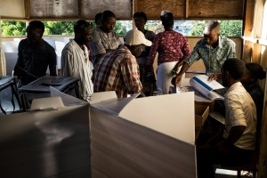 Haiti's electoral authorities said about 290,000 citizens could not cast their votes.