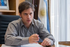 Argentina's Economy Minister Axel Kicillof has accused US Judge Thomas Griesa of forcing the country to default on its debt.