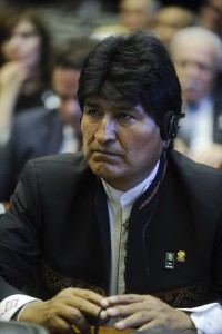 A Bolivian colonel accused the government of Evo Morales of framing up an accusation of terrorismo to crackdown on the opposition.