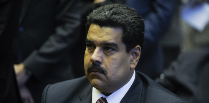 Nicolás Maduro was named president of the PSUV