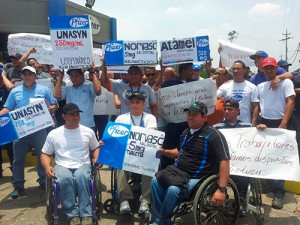 Over 500 jobs at Pfizer are at risk amid a possible paralyzation of a factory in Venezuela.