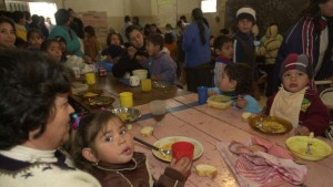 According to the Catholic University of Argentina, poverty in the country has gone up over the last year.