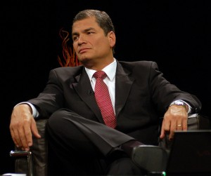 Ecuadorian President Rafael Correa passed a new media law in 2013.