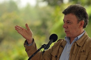 President Santos has repeatedly refused to agree to a bilateral ceasefire while peace talks are ongoing.