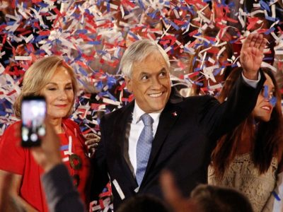 "If Sebastián Piñera can ""wake up"" non-voters, he could become Chile's next president, if he can't he will be wiped out by his leftist rivals. (Flickr)"