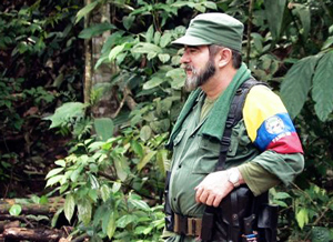 Timoleón Jiménez a.k.a Timochenko discards the possibility of peace in 2014. (PazFarc-EP)