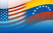 venezuela usa flags