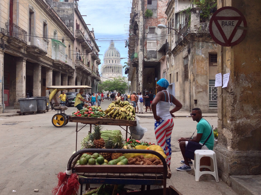 The black market in Cuba keeps people from starving.